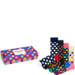 Four-Pack Big Dot Sock Set