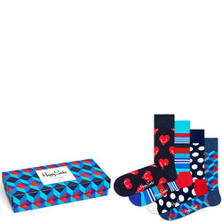 Four-Pack Sock Set