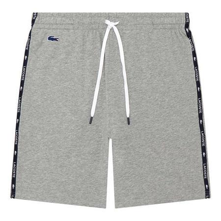 Logo Tape Drawstring Pyjama Shorts