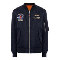 Reversible Twill Bomber Jacket