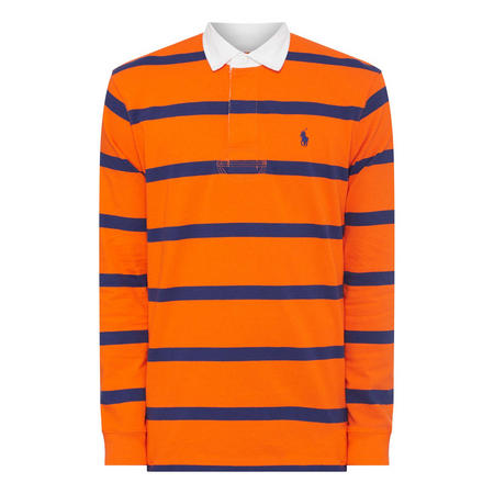 Stripe Rugby Sweat Top