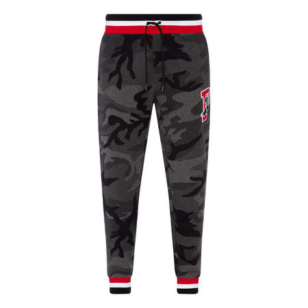 Cuffed Camouflage Sweat Pants
