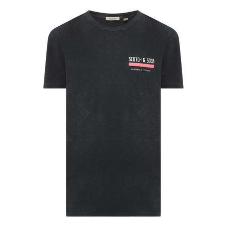 Bar Logo Stressed T-Shirt