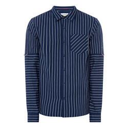 Contrasting Stripe Shirt