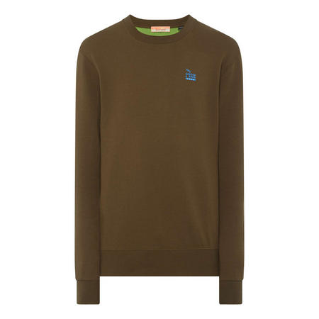 Logo Crew Neck Sweat Top