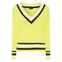 Game V-Neck Sweater