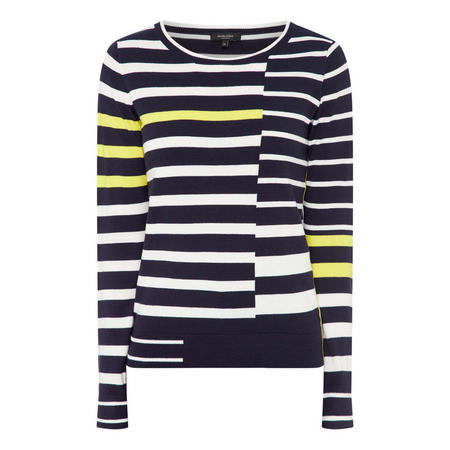 Irregular Stripe Sweater