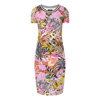 Printed Midi T-Shirt Dress