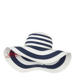 Striped Straw Hat