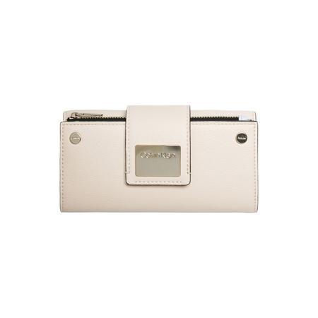 Lock Tri-Fold Wallet