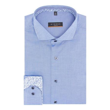 Slim Fit Micro-stitch Shirt