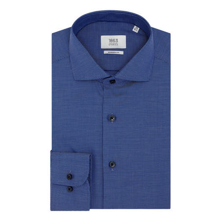 Textured Modern Fit Formal Shirt