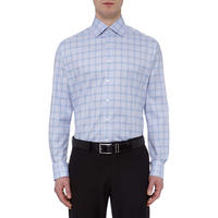 Checked Comfort Fit Formal Shirt