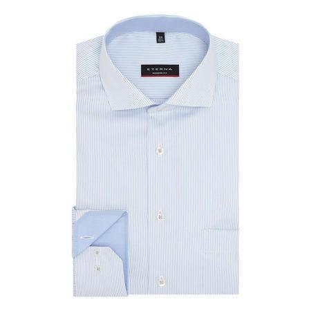 Striped Modern Fit Twill Shirt