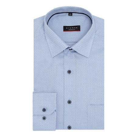Textured Square Modern Fit Shirt
