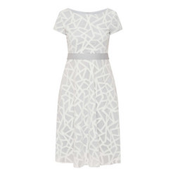 Zig-Zag Overlay Dress