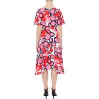 Dot Print Shift Dress