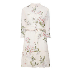 Button Up Floral Dress