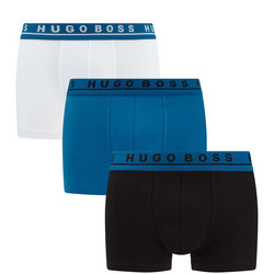 Three-Pack Logo Waistband Trunks