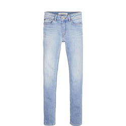 Skinny Faded Jeans