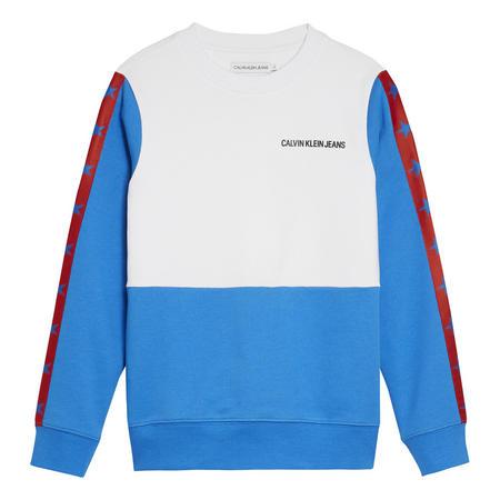 Colour Block Sweat Top
