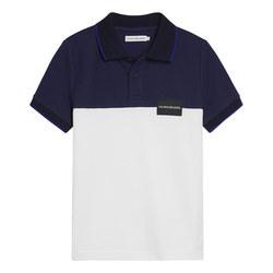 Boys Colour Block Polo Shirt