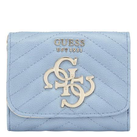 Violet Quilted 4G Wallet