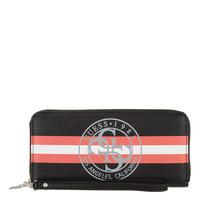 Bobbi Stripe Zip-Around Wallet