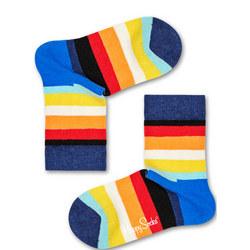 Kids Striped Socks