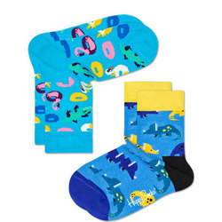 Kids Two-Pack Dinosaur Socks