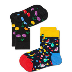 Babies Two-Pack Cherry Socks