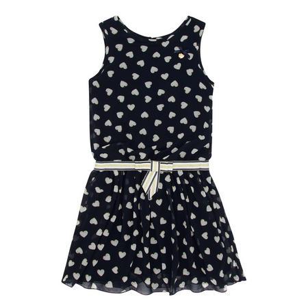 Heart Print Dress