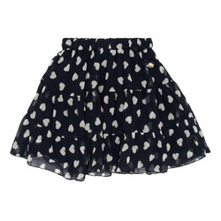 Chiffon Heart Skirt