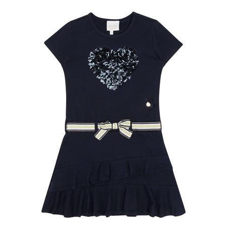 Sequin Heart Dress