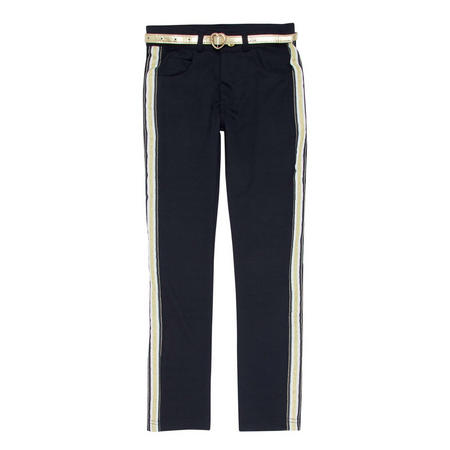 Ribbon Skinny Fit Trousers