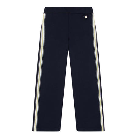 Ribbon Trim Wide Fit Trousers