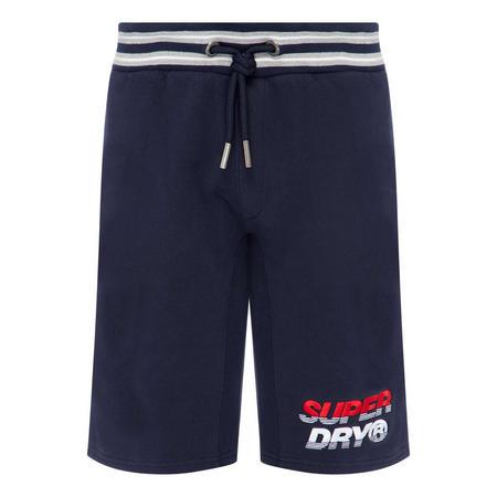 Striped Logo Shorts