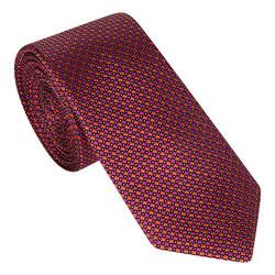 Diamond Print Silk Tie