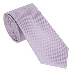 Textured Grid Silk Tie