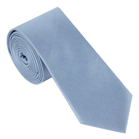 Textured Grid Silk Tie