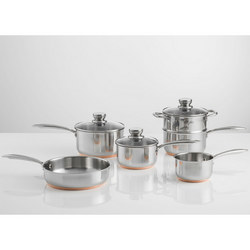 Stainless Steel Copper Six Piece Set