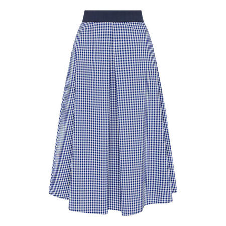 Gingham Cotton Skirt