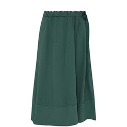 A-Line Drawstring Skirt