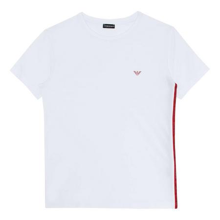 Stripe Crest Embroidered Shorts