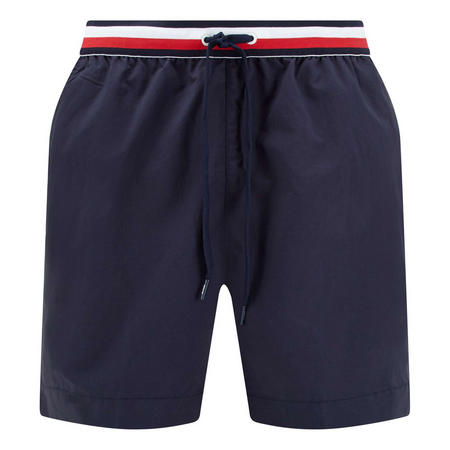 Logo Stripe Waist Shorts