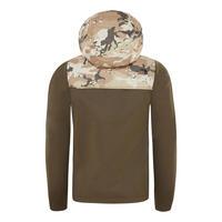 Camouflage Tech Zip Up Hoody
