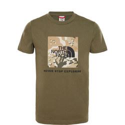 Camouflage Box Logo T-Shirt