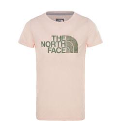 Girls Camouflage Logo T-Shirt