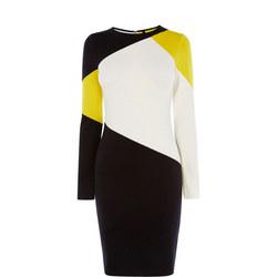 Colourblock Panelled Dress