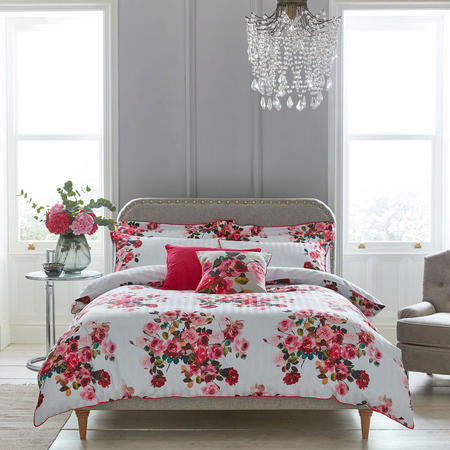 Roses Oxford Pillowcase Pink